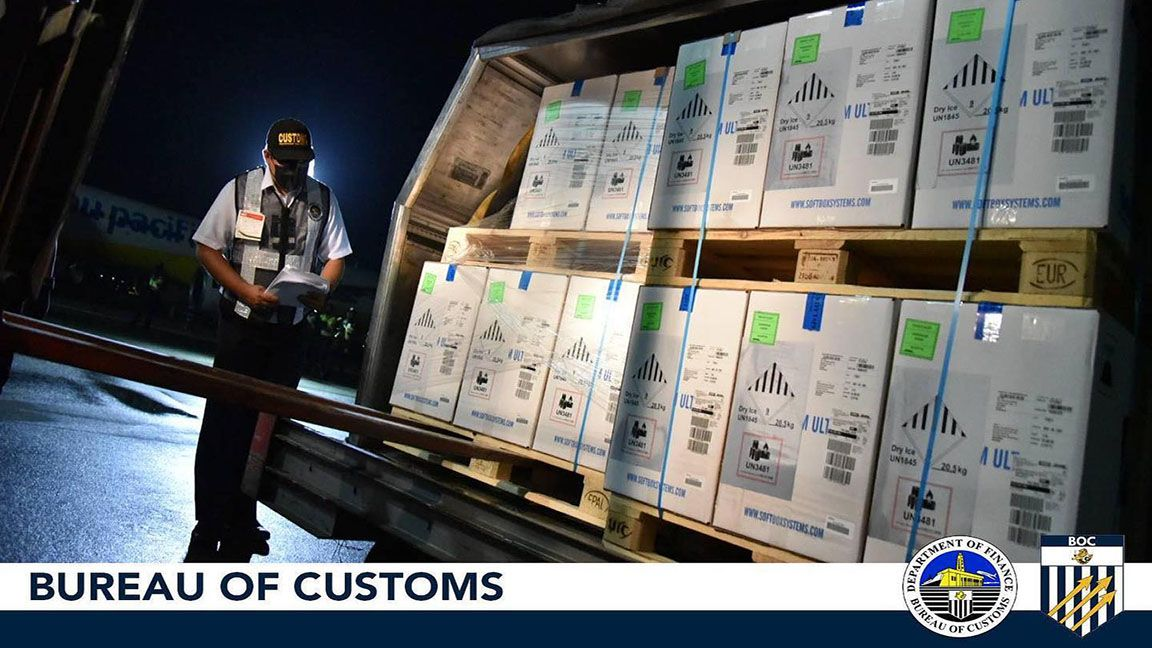 BoC quickly clears another Pfizer vaccine shipment photo from BoC PH, Facebook
