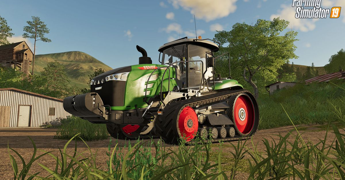 Developer declares farming simulator game now an esport photo from The Verge
