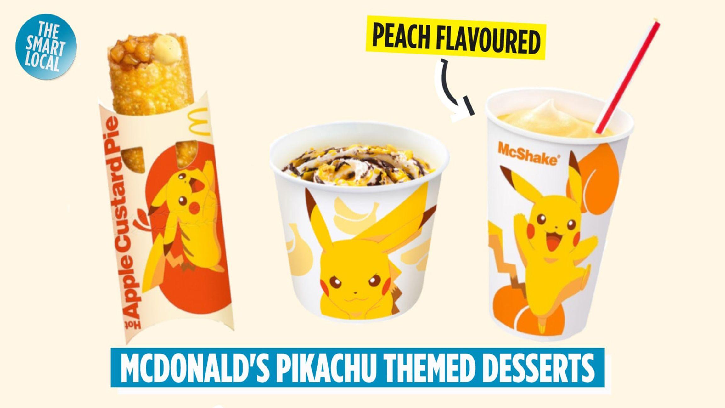 McDonald's Japan releases Pokemon-themed desserts