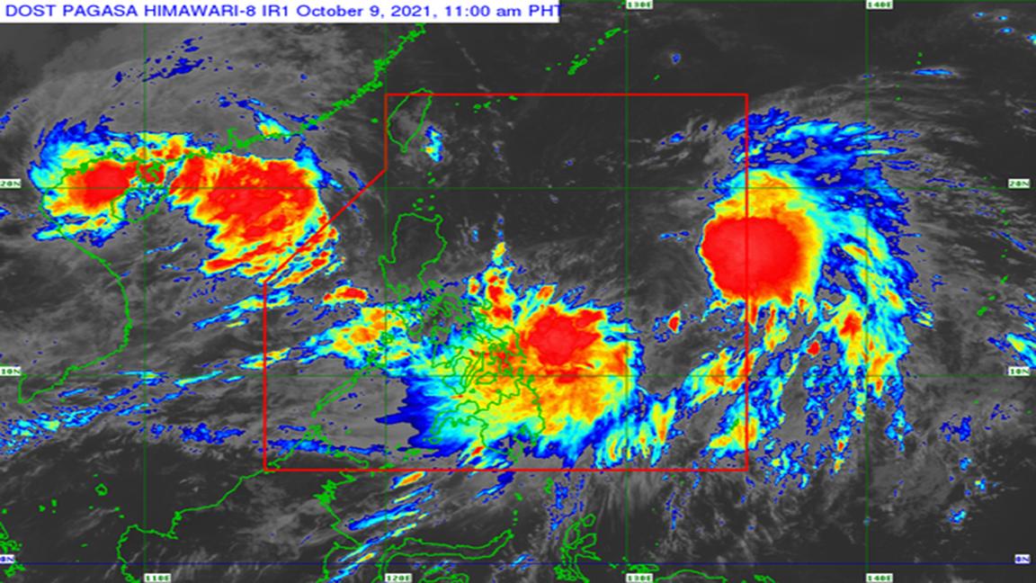 Sanib-pwersa' Pagasa says two storm systems might merge
