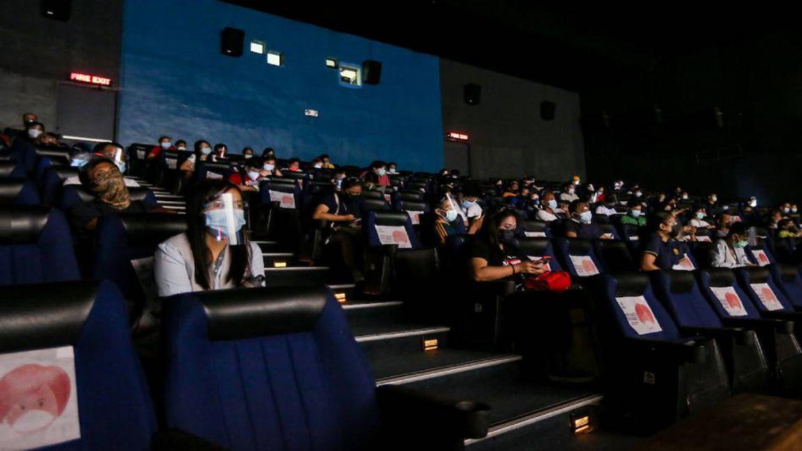 Killjoy! Seatmates not allowed inside cinemas photo ABS-CBN News