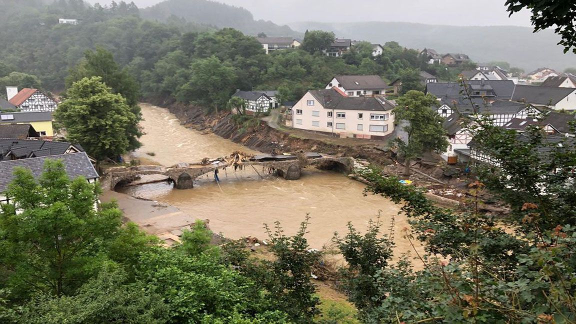 No doubt about it Climate change caused Europe's more intense floods photo from Reuters