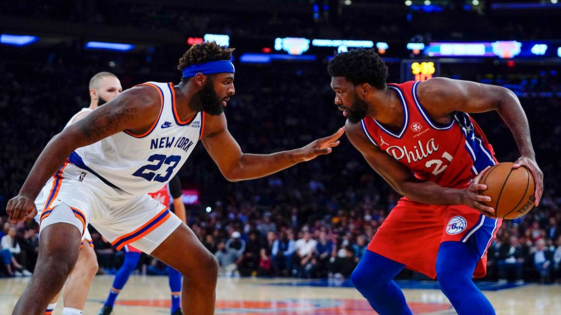 Walker stars as Knicks gets first victory against the 76ers since 2017 photo Daily Journal