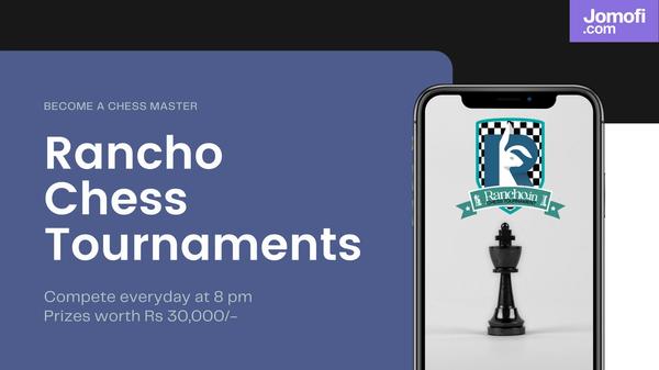 jomofi.com rancho chess tournament | PUBG | Chess | pubg mobile | Free Fire | CoD Mobile | Custom tournaments | Esports