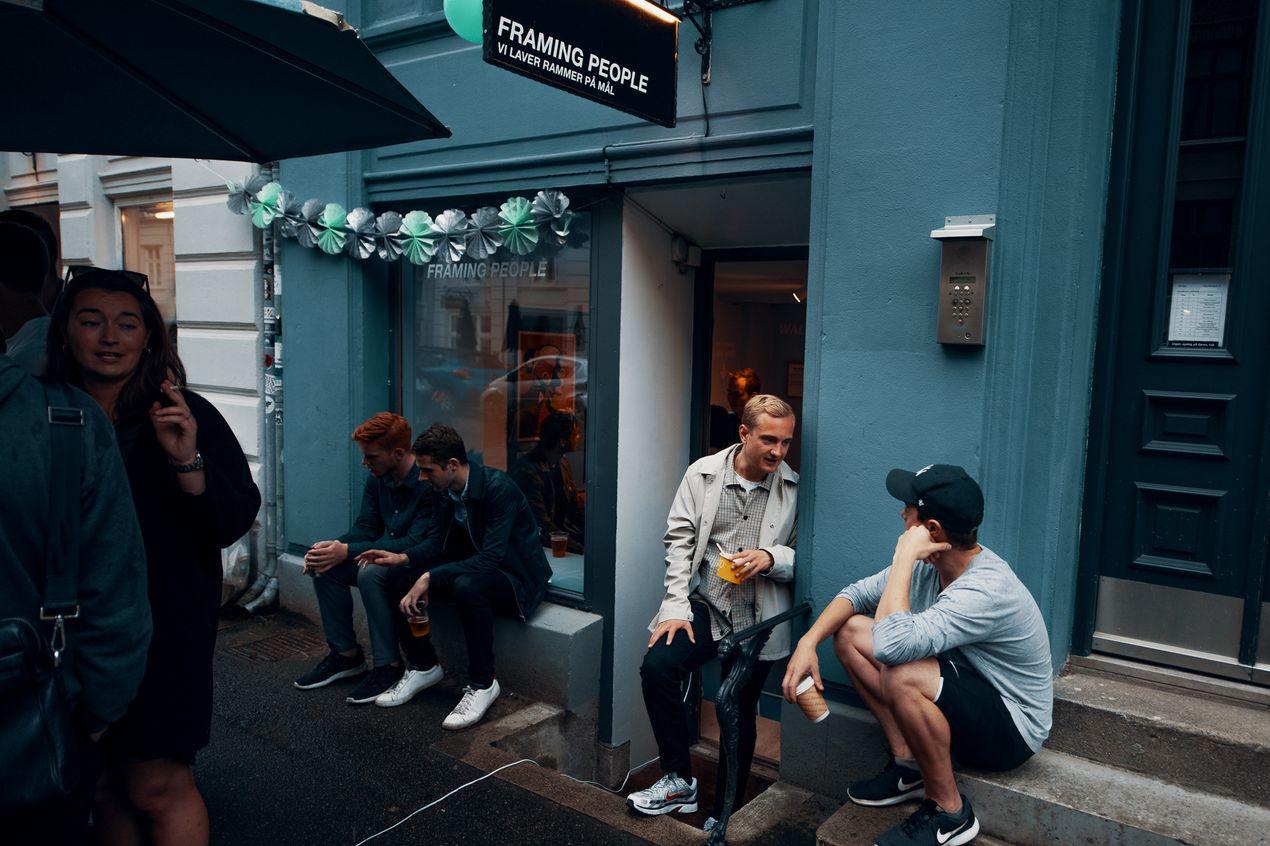 rammer københavn butik nørrebro jægersborggade framing people