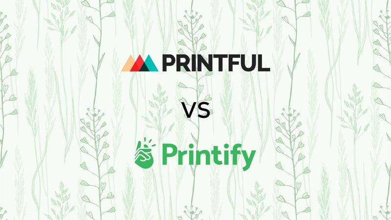 Cover for Choosing Between Printful and Printify for Your Dropshipping Needs