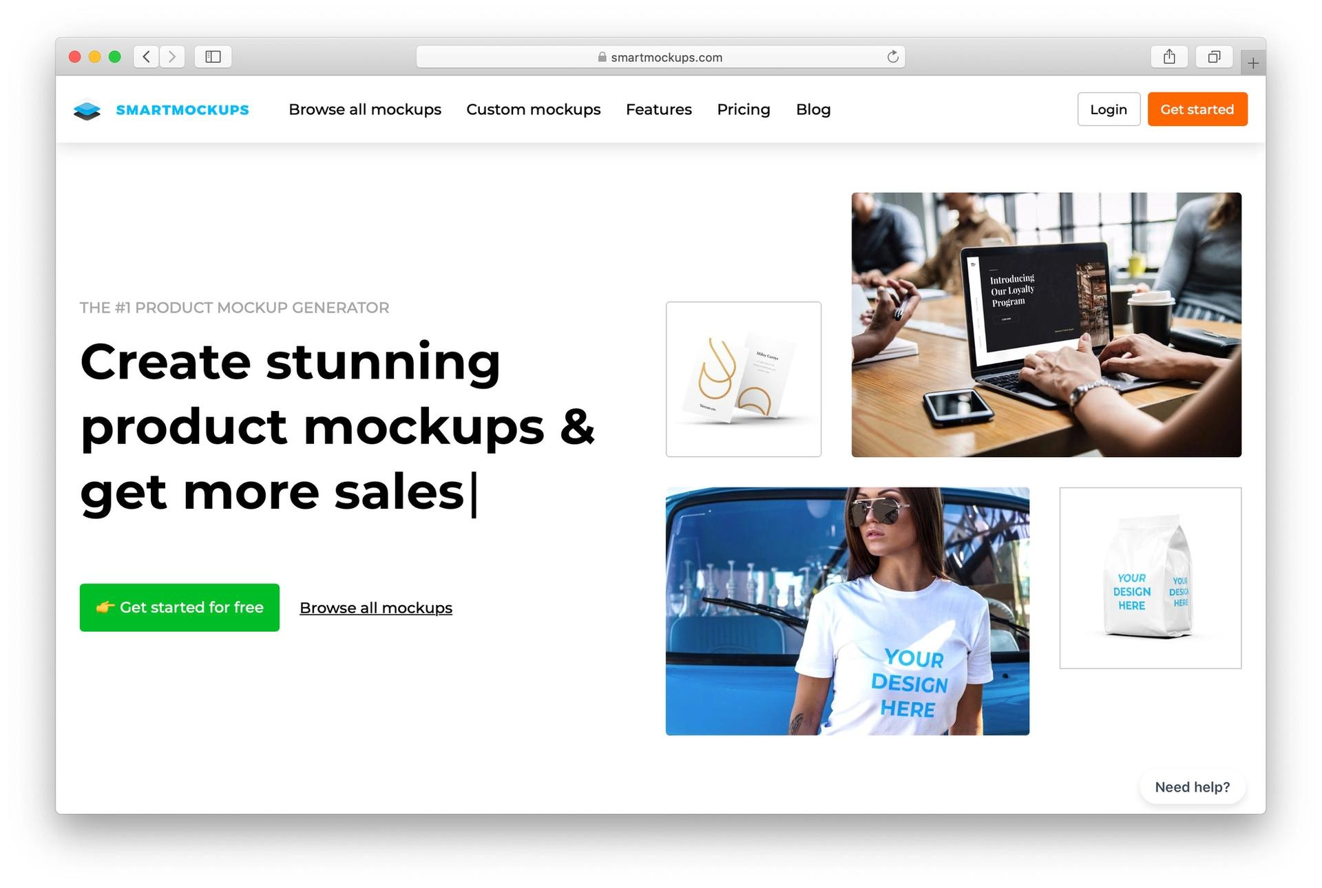 smartmockups screenshot
