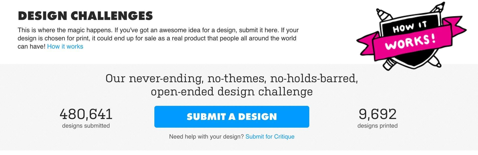 Threadless Design Challenge