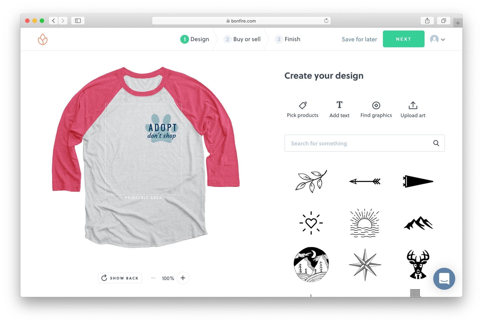 Bonfire Product Designer