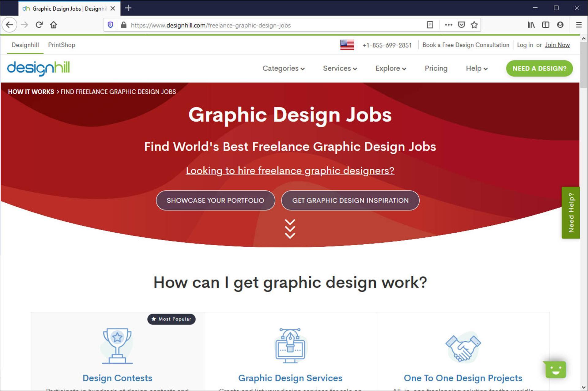Design Hill screenshot
