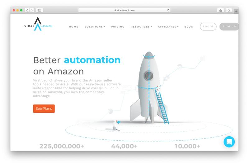 Viral Launch homepage screenshot