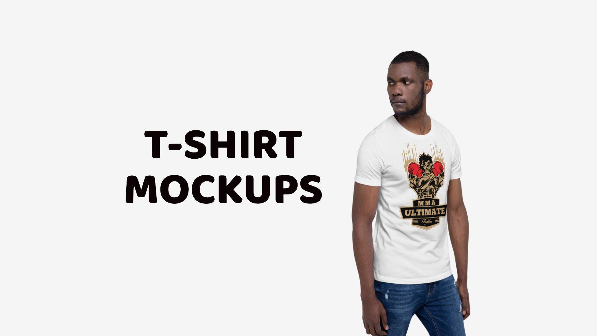 Best T-Shirt Mockup Templates and Generators