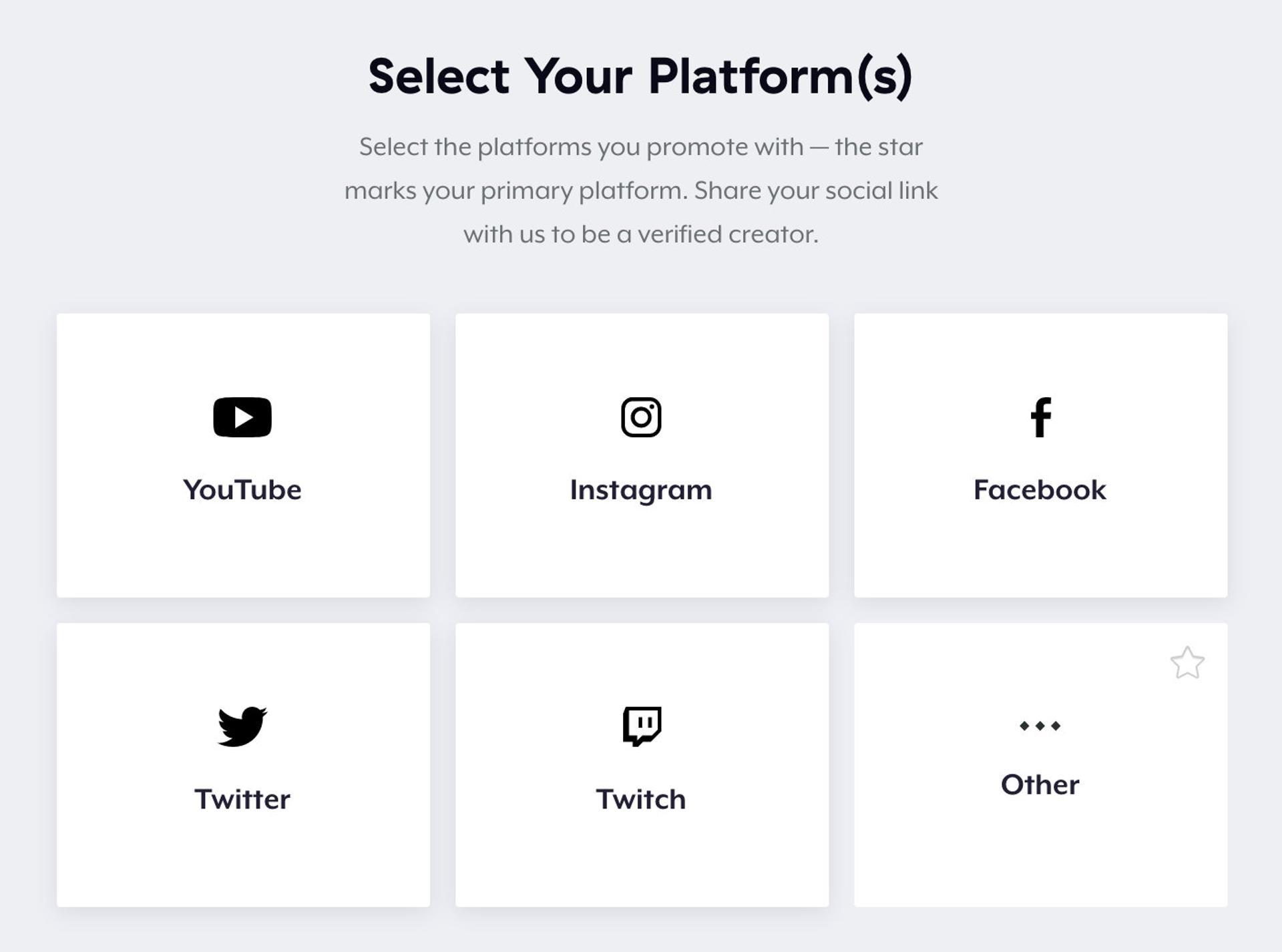 Teespring - connecting your social media accounts