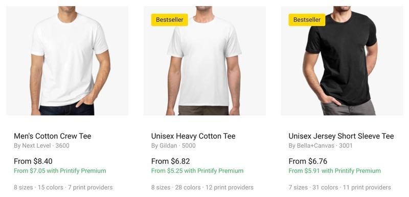 Printify Premium Discounts