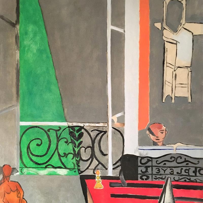 """Henri Matisse """"The Piano Lesson"""""""
