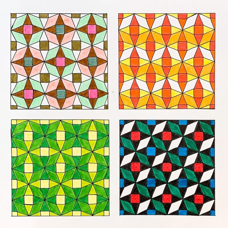 Historical Pattern Remix