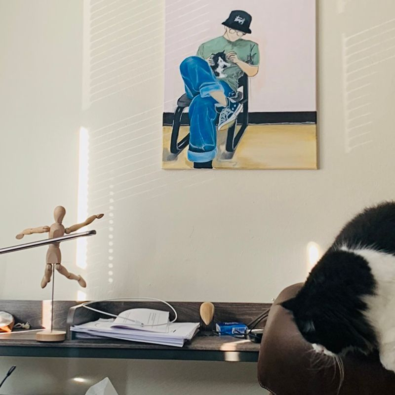 Workspace and Cat