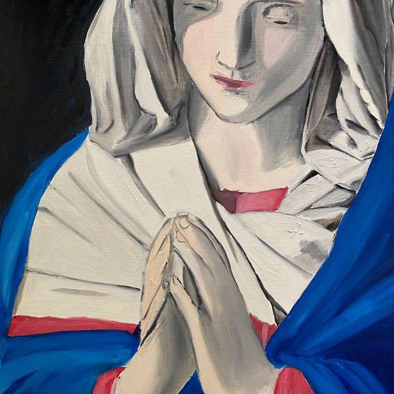 "Sassoferrato ""The Virgin in Prayer"""