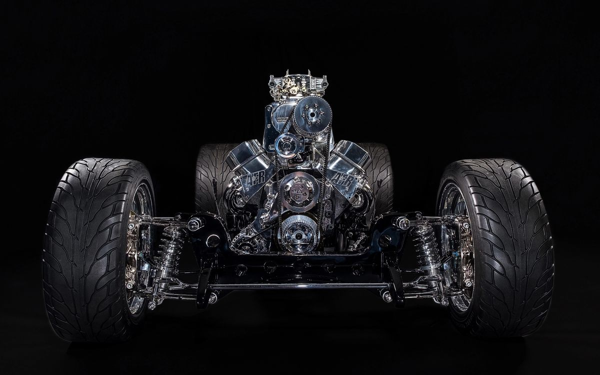 33 Ford Chassis
