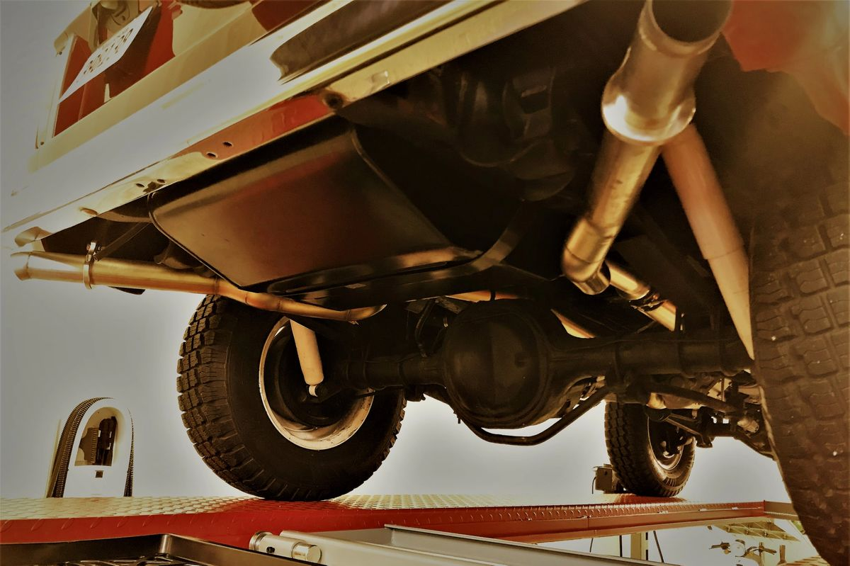 Bronco Stainless Exhaust