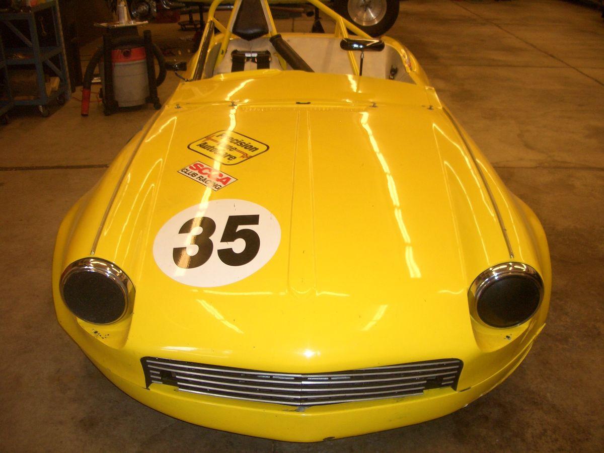 Spitfire Race Car