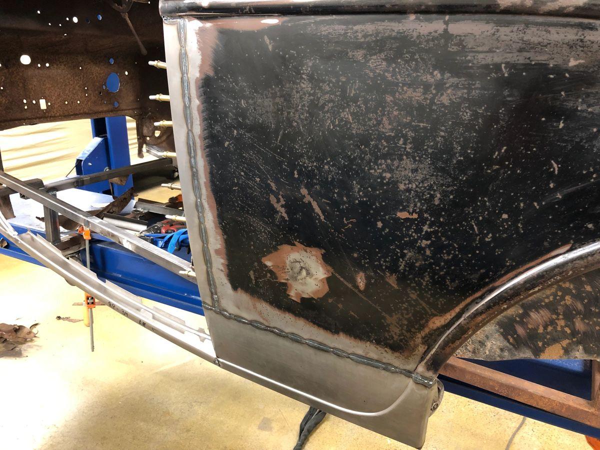 Metal repair Hot Rod