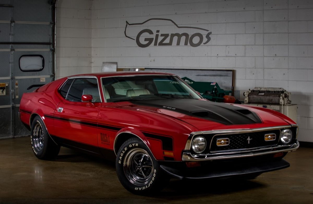 Custom Pro Touring Mustang