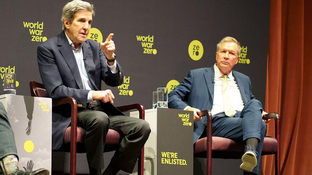 John Kerry and John Kasich