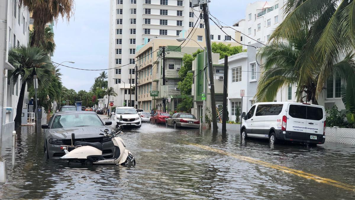 Sea Level Rise Oceans Miami