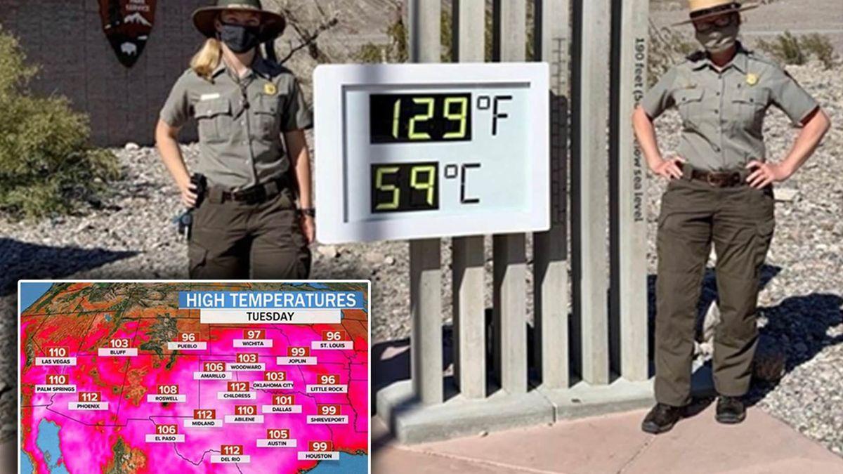 Heat Wave Wildfires