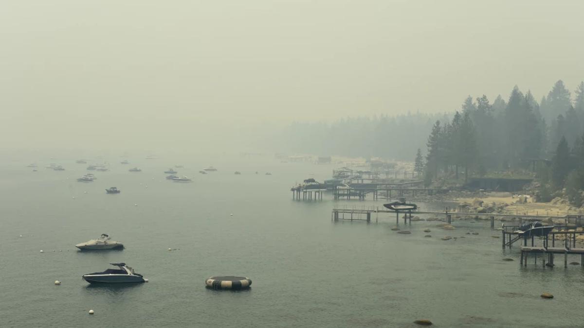 Evacuate Lake Tahoe to Escape Caldor Fire