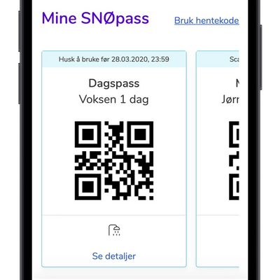Viewing your passes on an iPhone