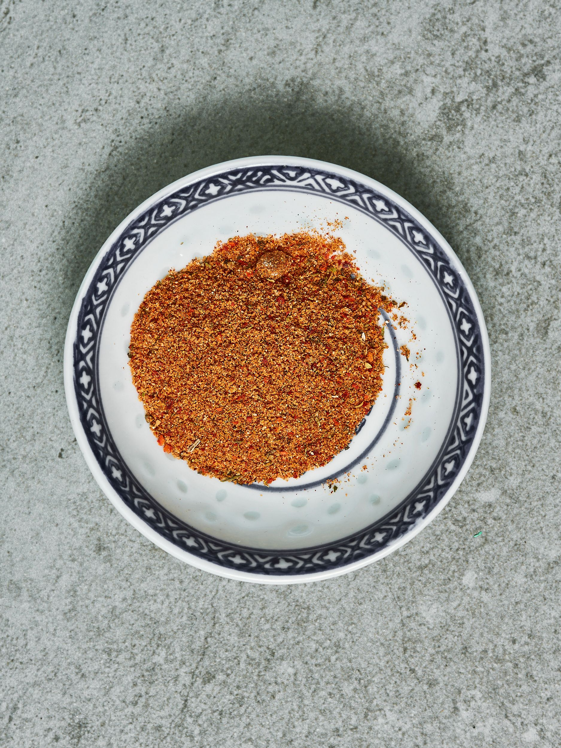 Rød grill-rub