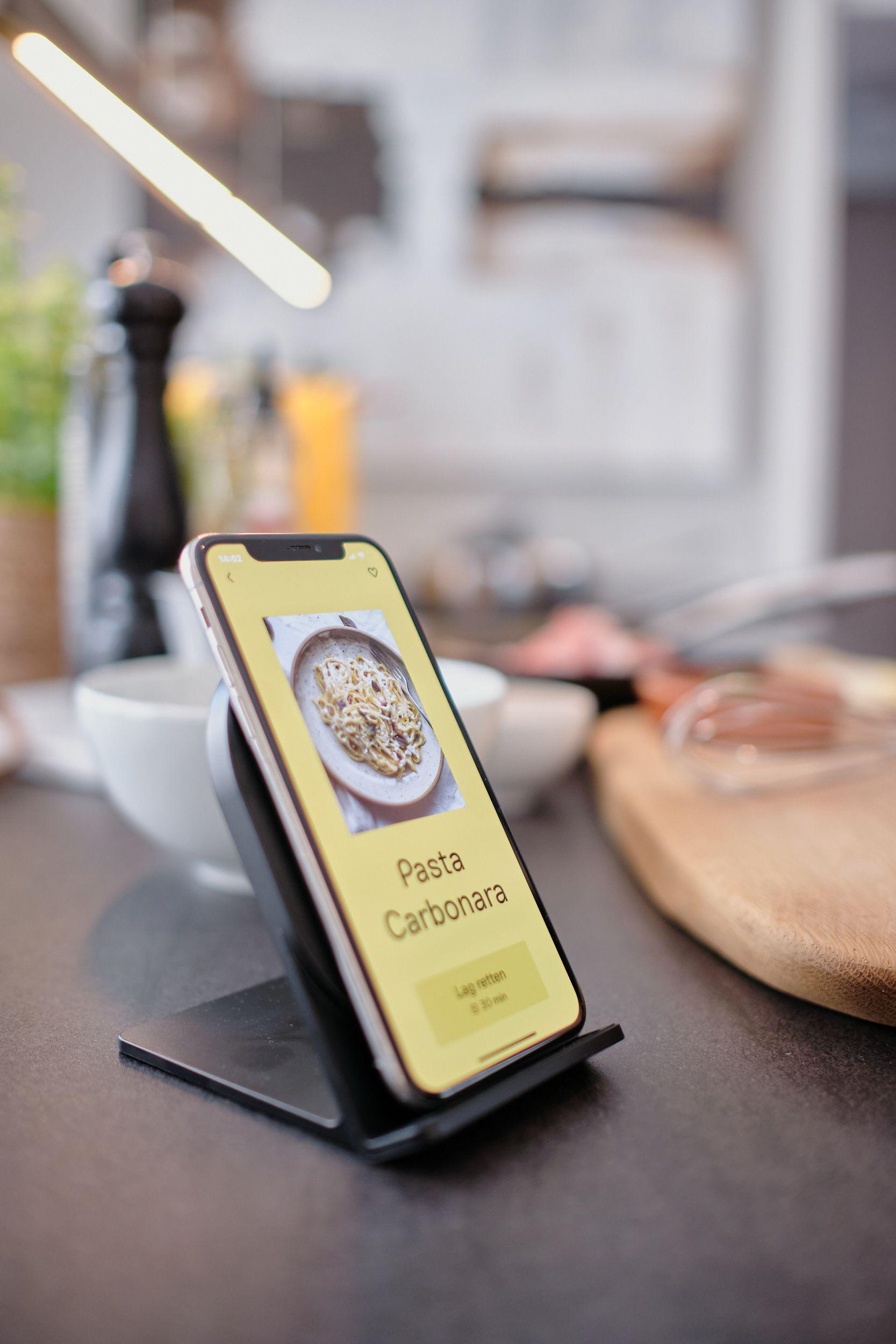 Pasta Carbonara i Foodsteps