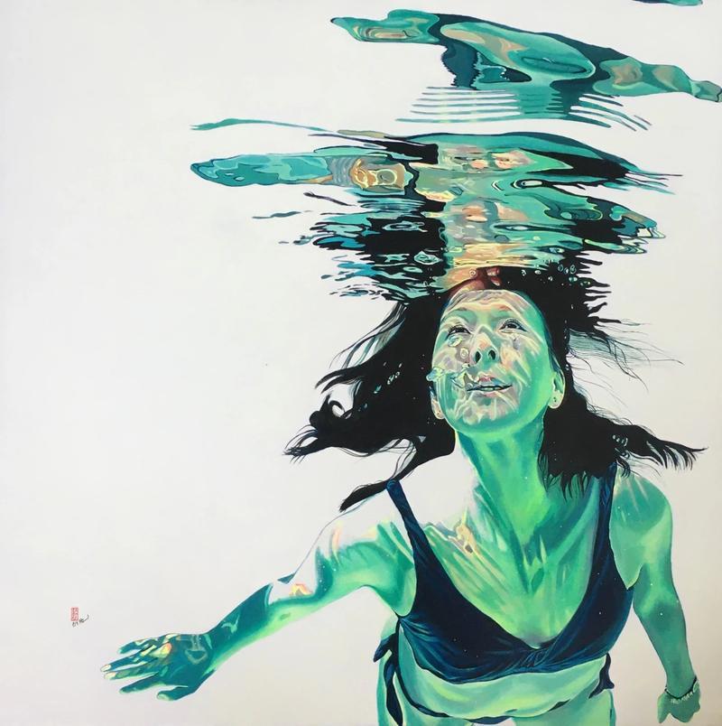 Artwork I Am Enough by Brigitte Pruchnow
