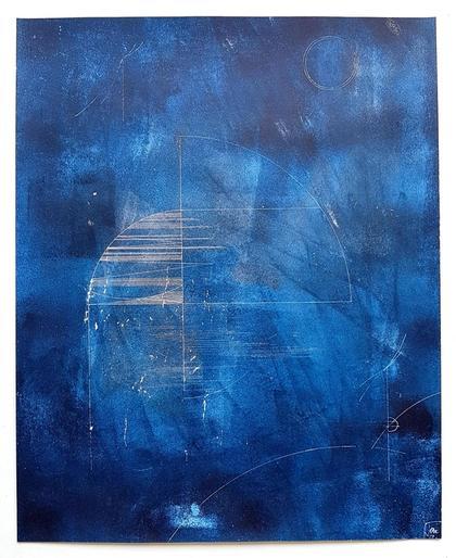 Artwork Nightwalk 3 by Jana Schumacher