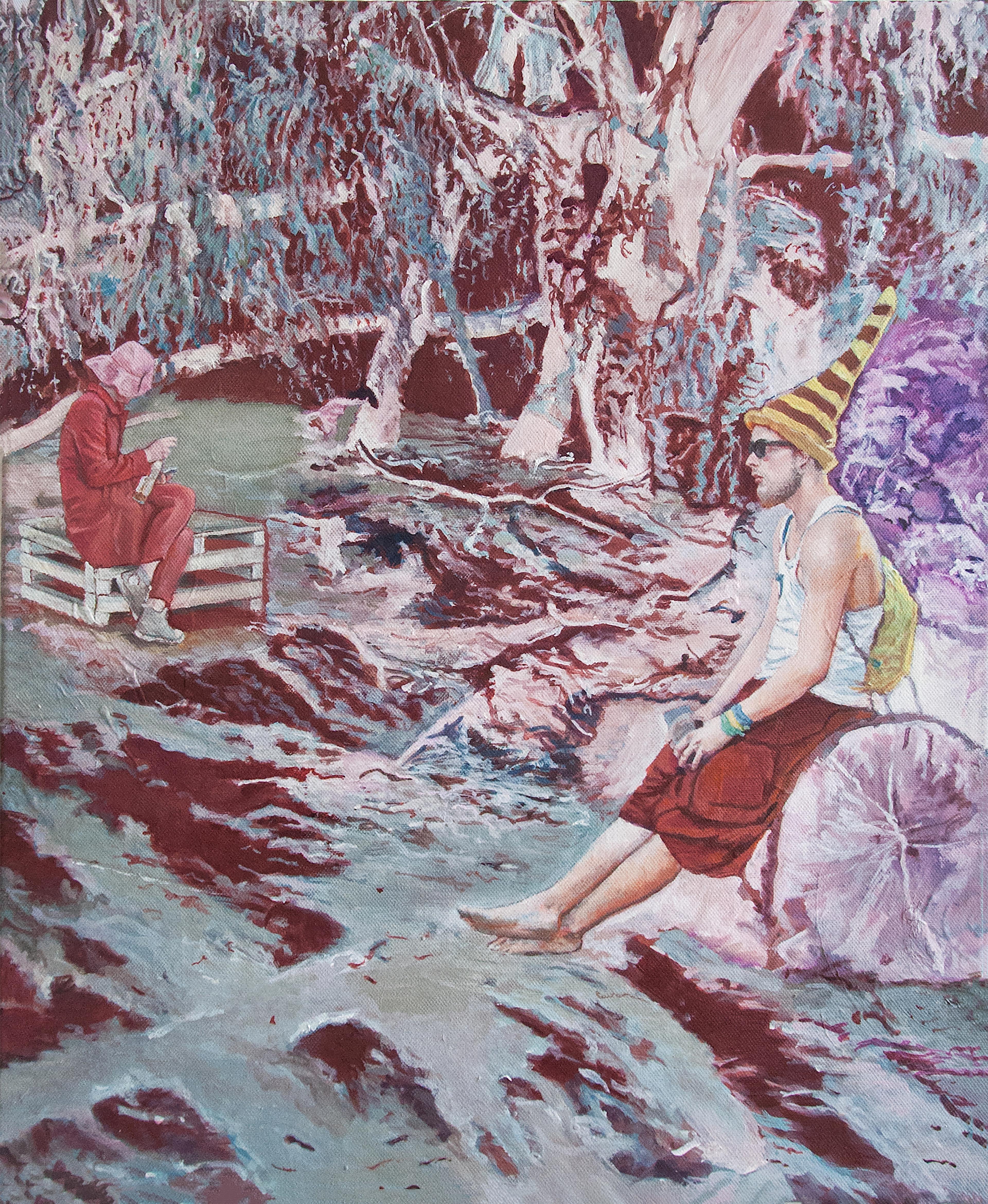 artwork Schweigen by Birgit Klerch