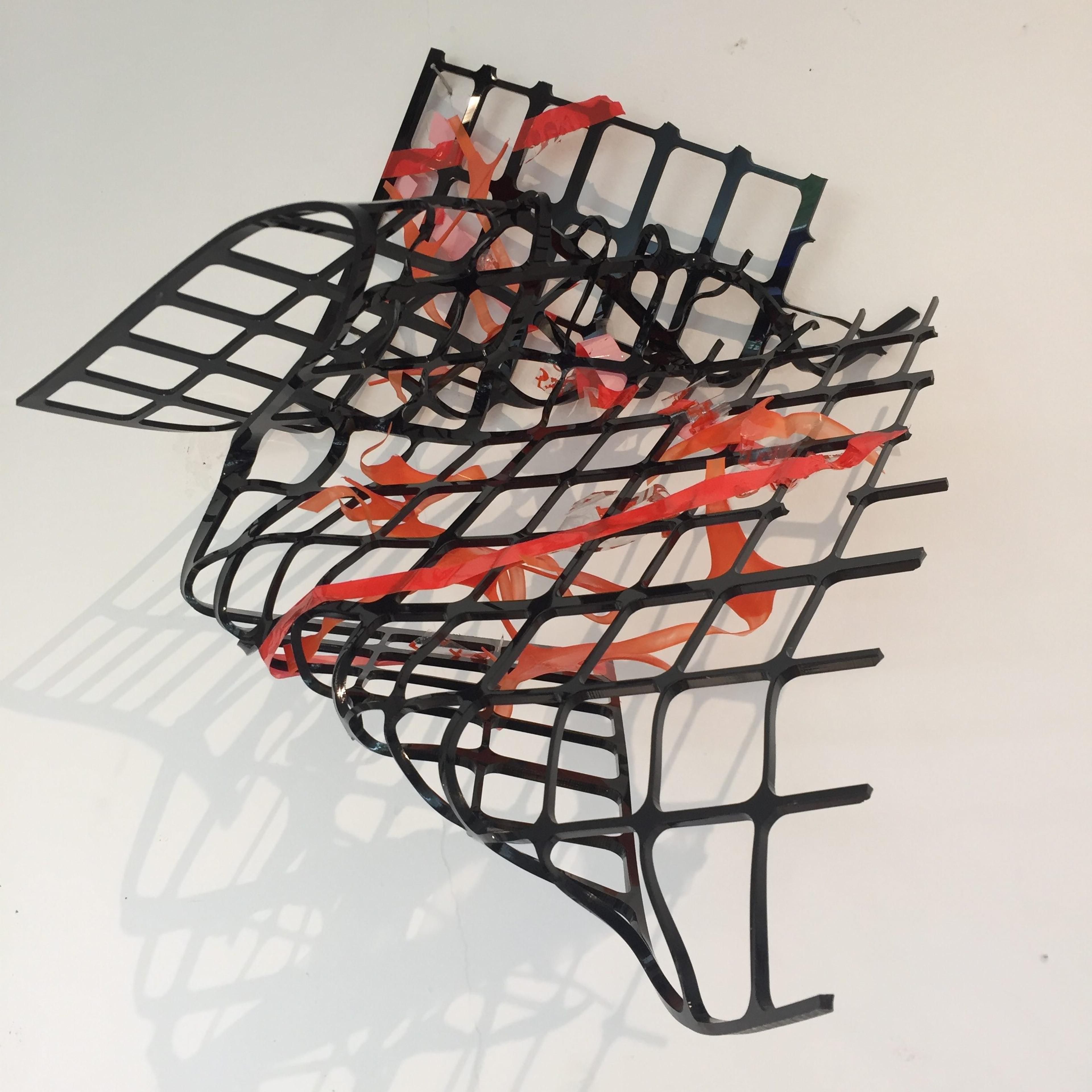 artwork black grid by Gabriele Walter