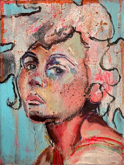 Artwork Dalia by Marlen Schulz