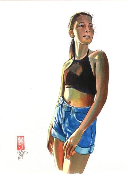 Artwork Gegenlicht by Brigitte Pruchnow