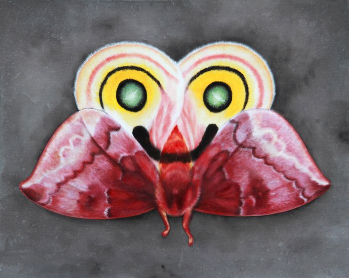artwork Oz-Moth by Coco Bergholm