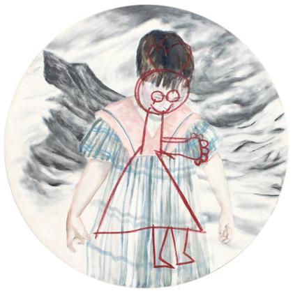 Artwork Mädchenkleid by Jonathan Esperester