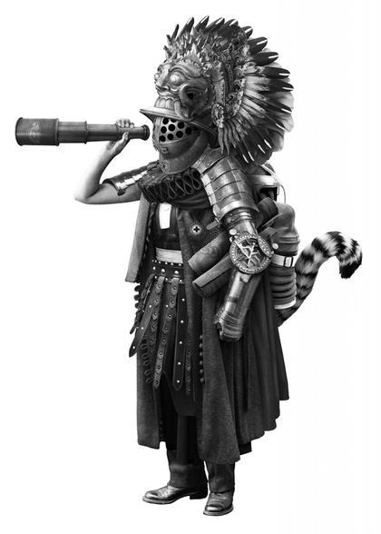 Artwork Der Konquistador by Steve Braun