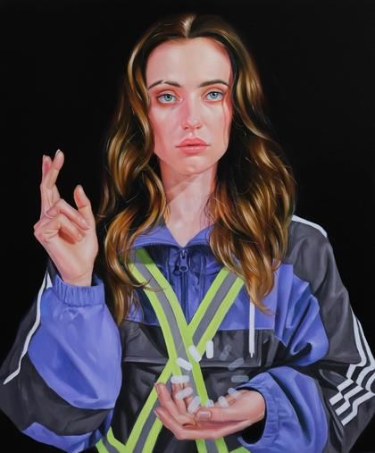 Artwork Waiting for Godot by Roxanne Sauriol