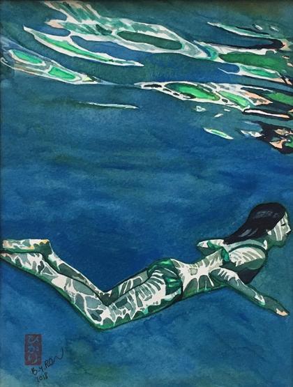 Artwork Mermaid by Brigitte Pruchnow