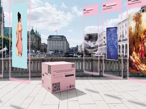MeetFrida Augment reality