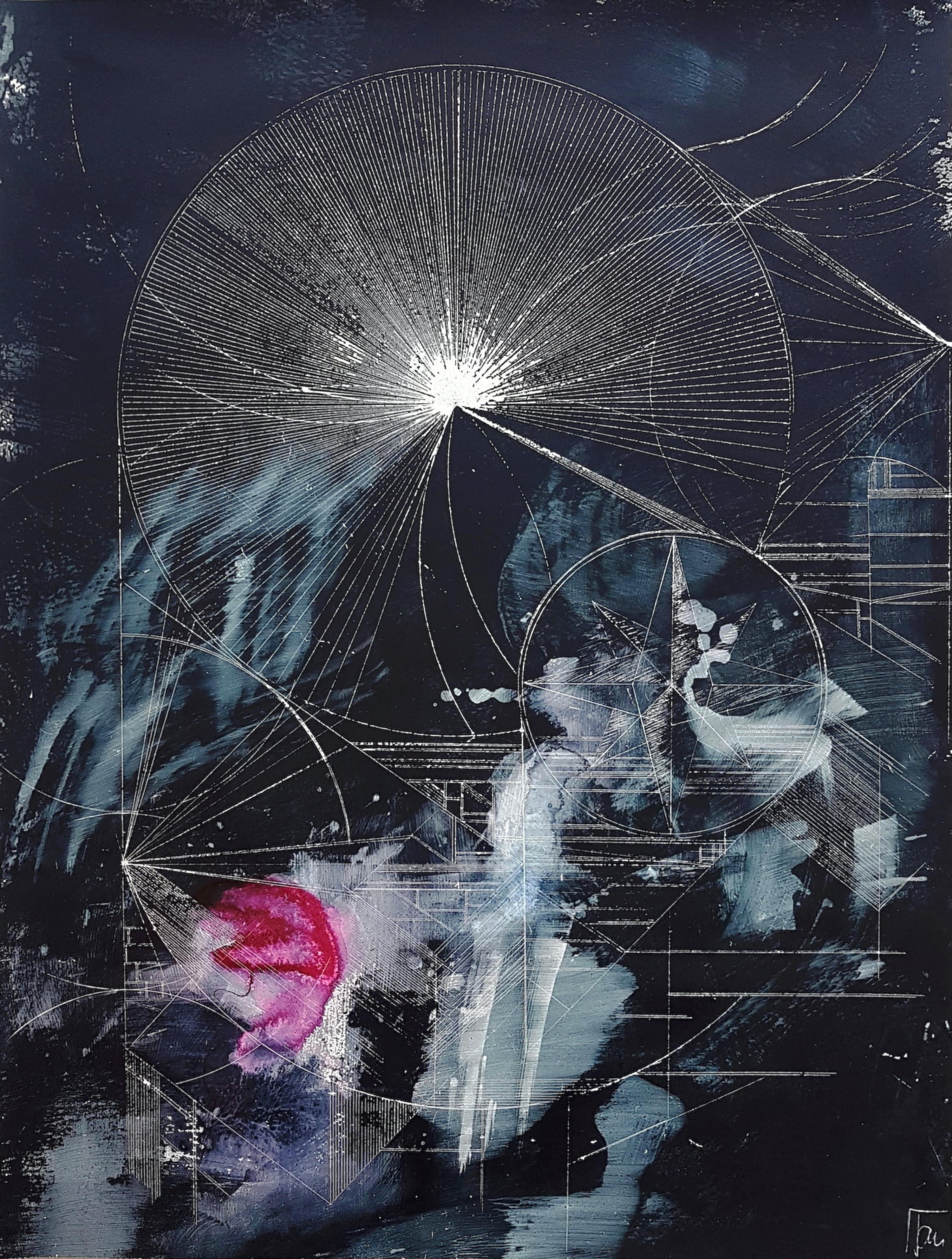 artwork Nightwalk 1 by Jana Schumacher