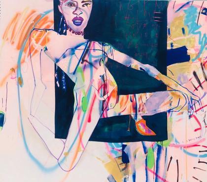 Artwork being it by Joséphine Sagna