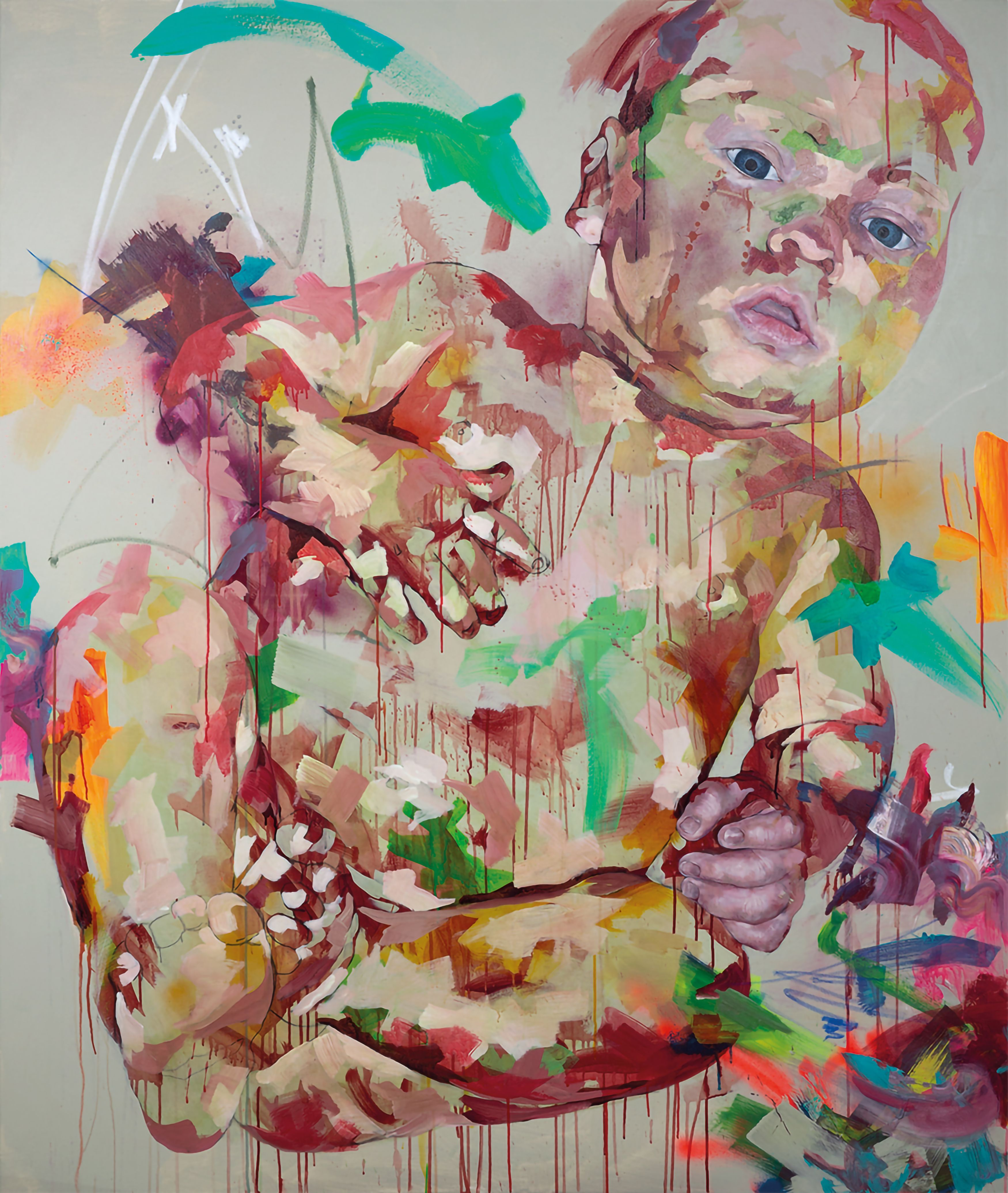 artwork Baby II by Claudia Mächler