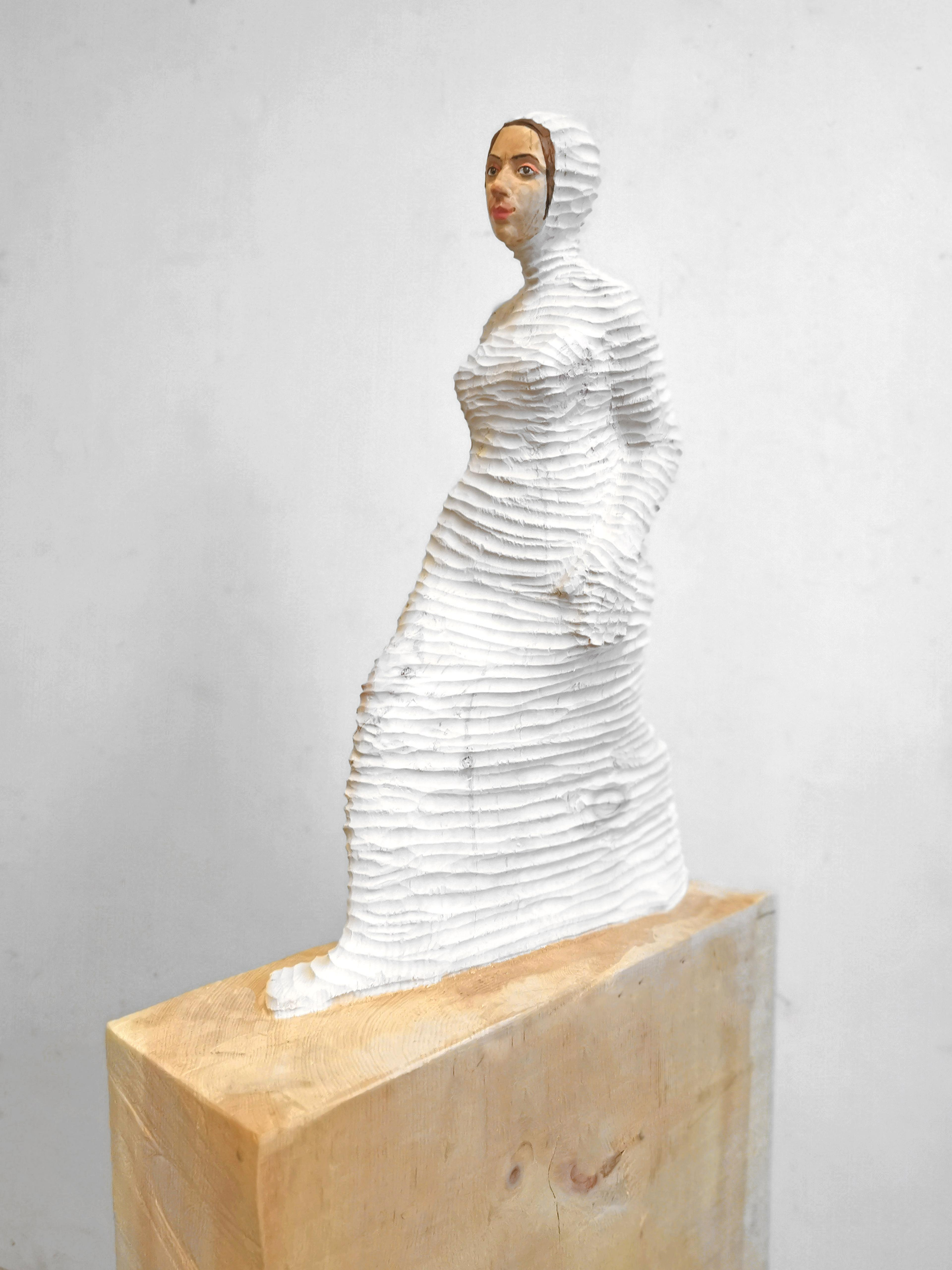 artwork umhüllt (weiß) by Isabel Ritter